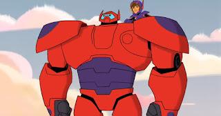big hero 6: trailer de la serie de television de marvel