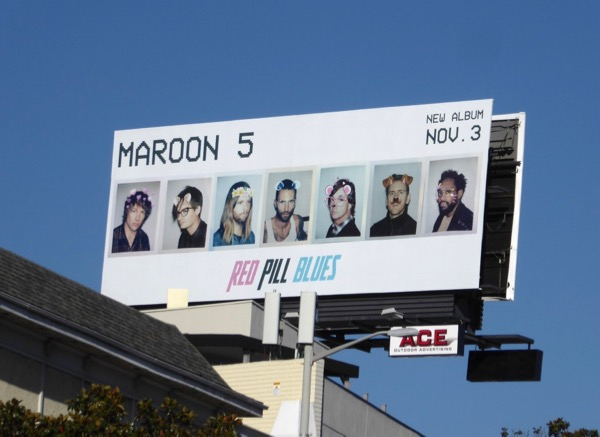 Maroon 5 Red Pill Blues album billboard