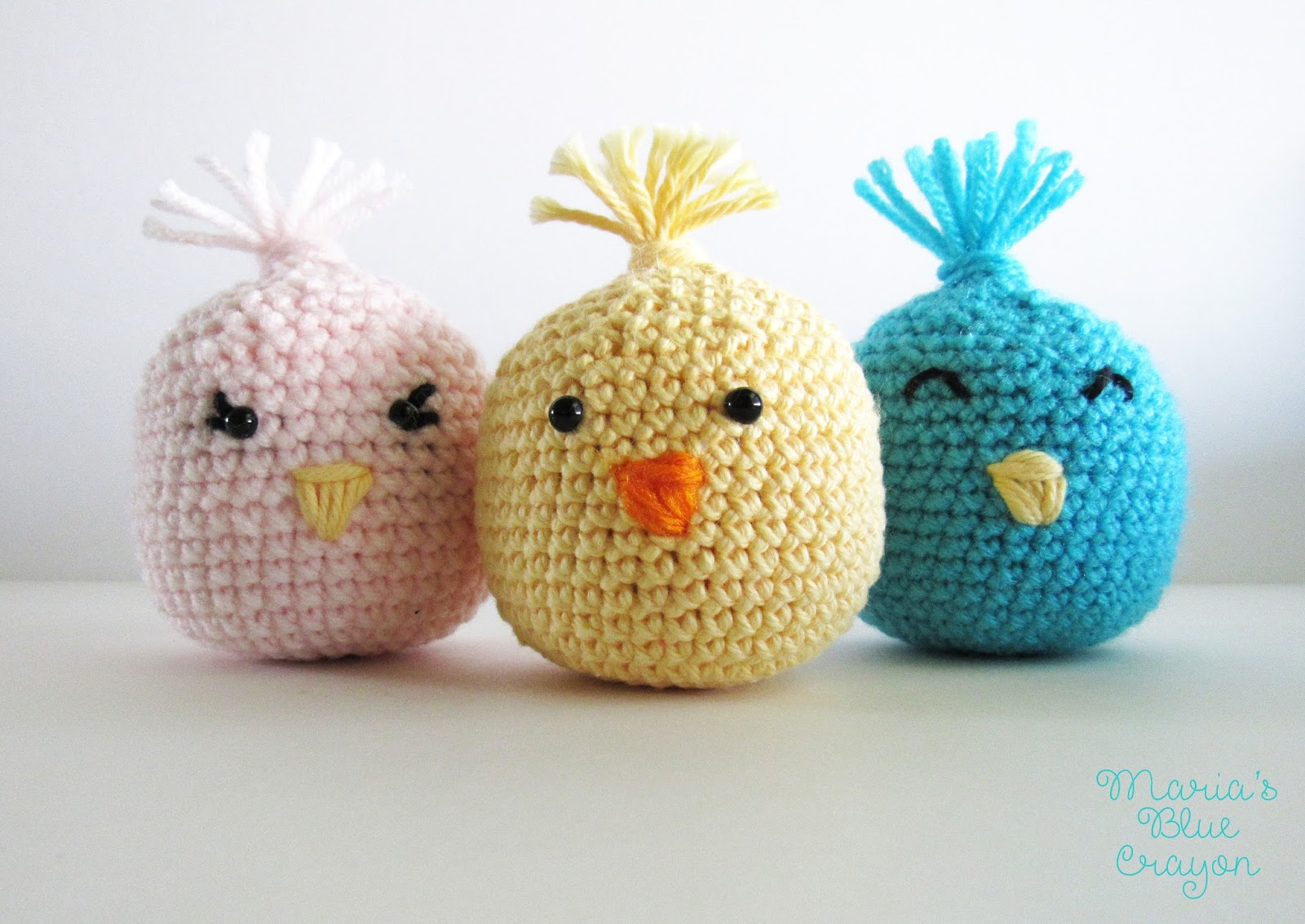 Amigurumi Hatching Easter Chicks Free Crochet Pattern - Cool ... | 1133x1600