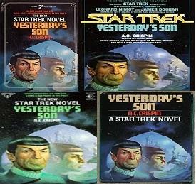 A. C. Crispin Egy fiú az örökkévalóságnak Star Trek