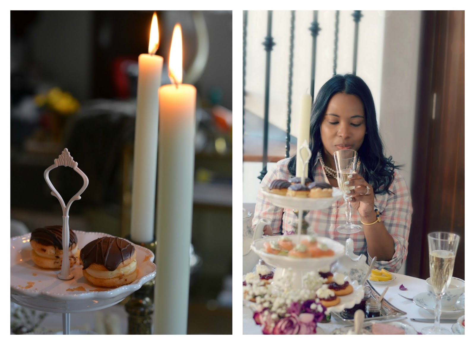 3 Simple How-To Tips for Hosting A Champagne Afternoon High Tea + Veuve Clicquot