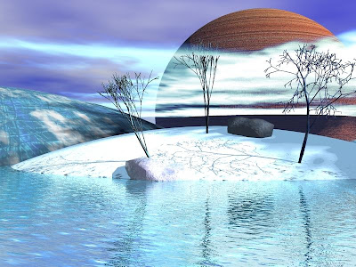 3D Water Background