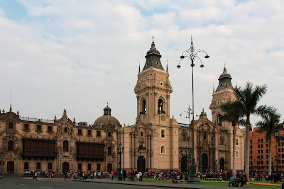 La plaza de armas es el epicentro de la ciudad