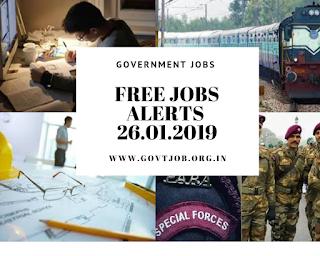 Free Job  Alert, Government Jobs , Recruitment Notification, Government Jobs Updates, Bank Jobs, Navy Jobs