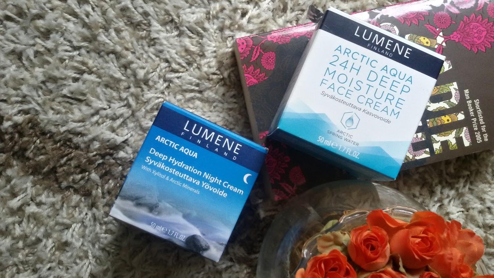 lumene arctic aqua night cream