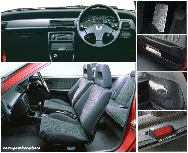 Honda Civic 4th Gen EF series 3-door Hatchback Interior