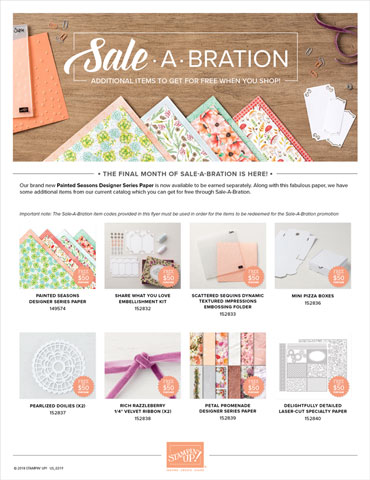 2019 Sale-A-Bration 3rd Release