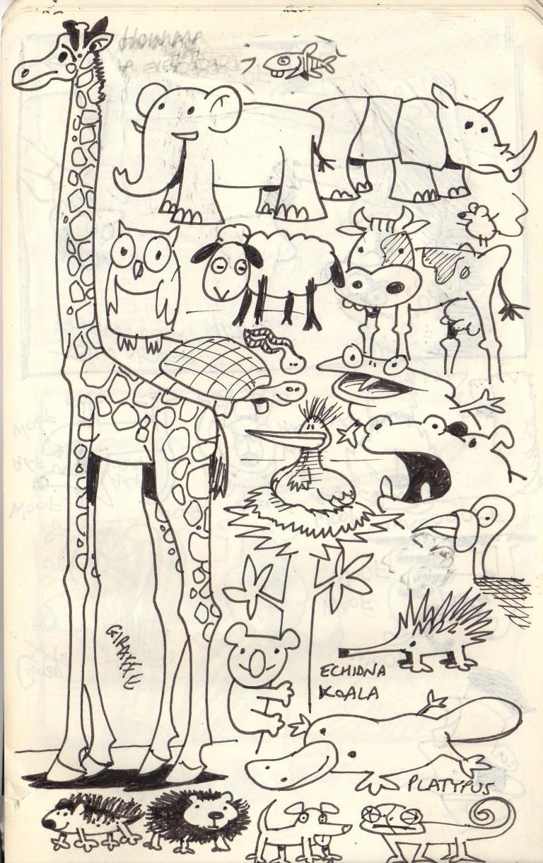Colganology 365 Doodles Day 244