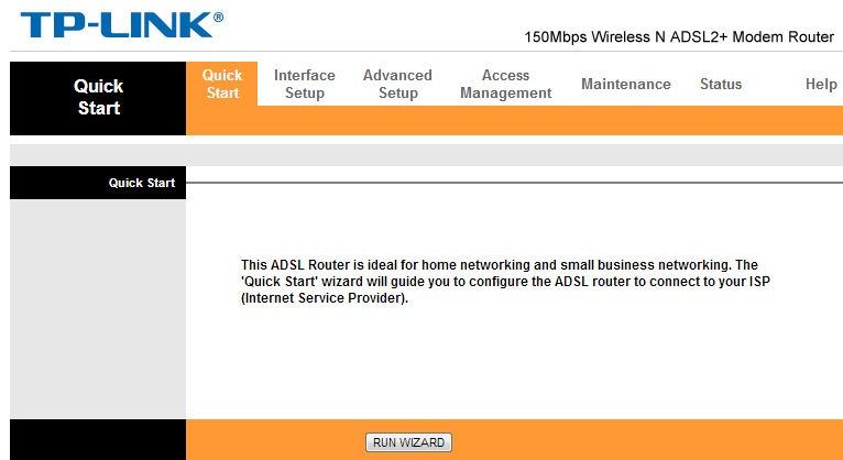 Useful Informations: Configure TP Link Modem 8951 wifi with