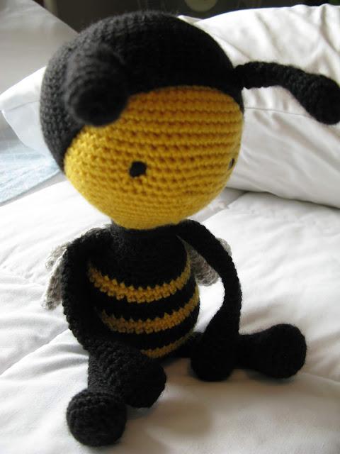 Meo My Crochet Crochet Honey Bee