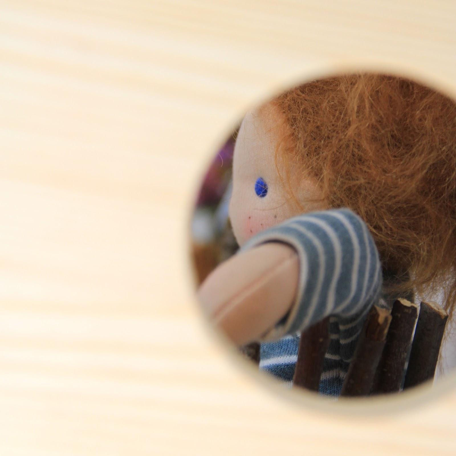 Der kleine Noa ist im Moment zu Besuch denn sein Puppenpapa ist inzwischen ein großer Junge und wünscht sich mehr Details für sein Puppenkind o se