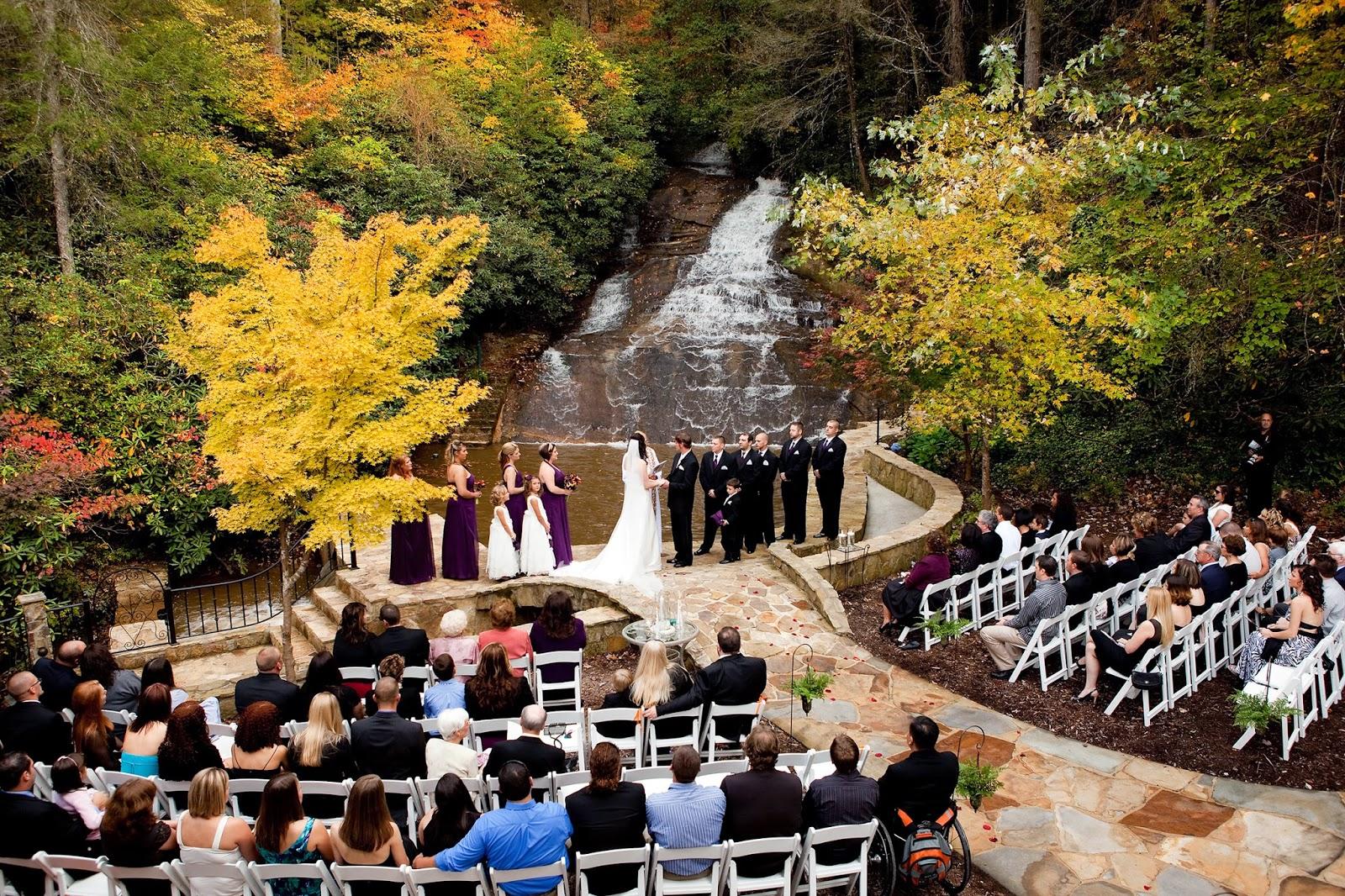 Wedding Ceremony Locations: Atlanta Wedding Blog: Fall Wedding Ideas