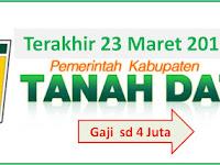 Rekrutmen Tenaga Non PNS Pemkab tanah Datar Gaji 4 Juta sd 29 Maret 2018