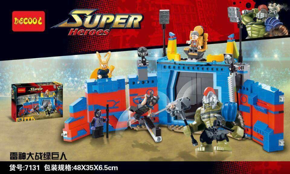 Decool 7131: Thor Ragnarok Arena Clash Set Preview