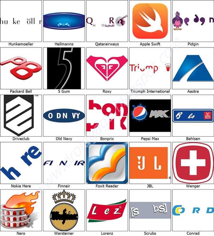 Logo Quiz Answers Level 23 N Olivero