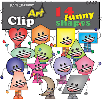 Shapes Clip Art - Rainbow