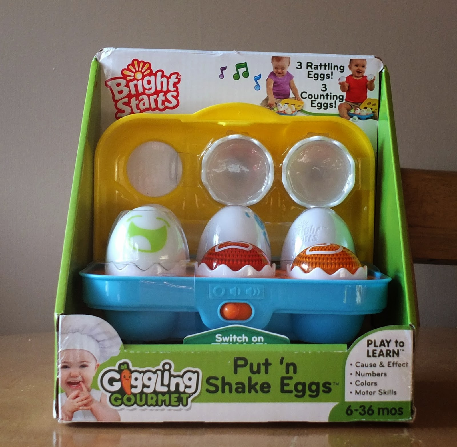 Put n' Shake Eggs Review