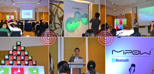 MiPOW Officially Launched PlayBulb Series Product in the Philippines