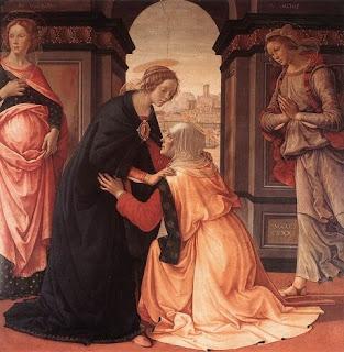 Nomes bíblicos de menina: letra I (Imagem: A Visitação - Domenico Ghirlandaio)