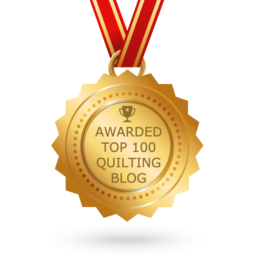 Top 100 Quilting Blog Award