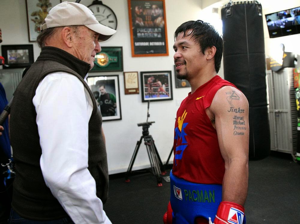 Robert Duvall and Manny Pacquiao