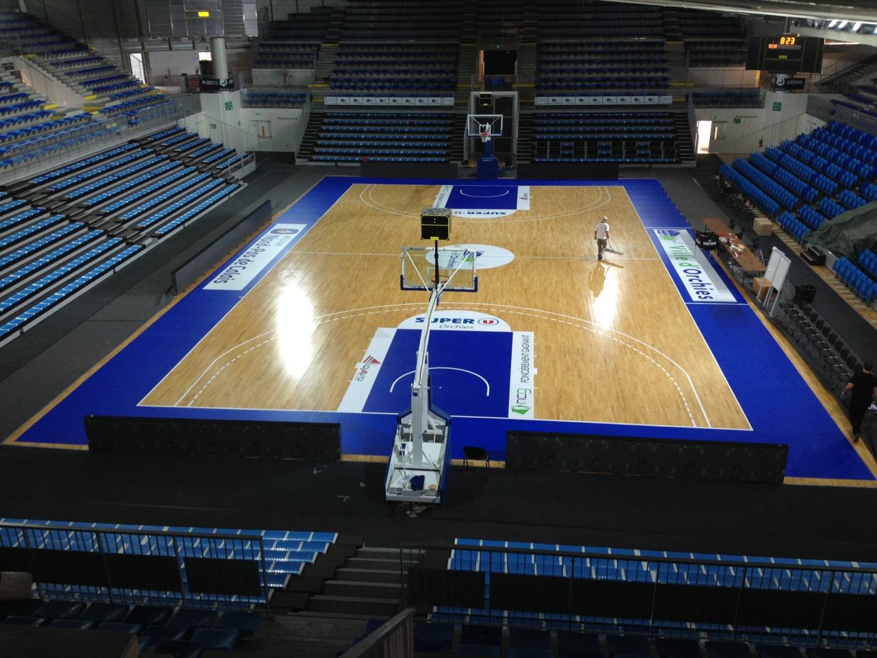 Sol Pour Salle De Sport big print | solutions de communication: basket club d'orchies