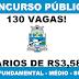 Concurso Público com mais de 130 vagas é anunciado pela Prefeitura de Foz do Iguaçu