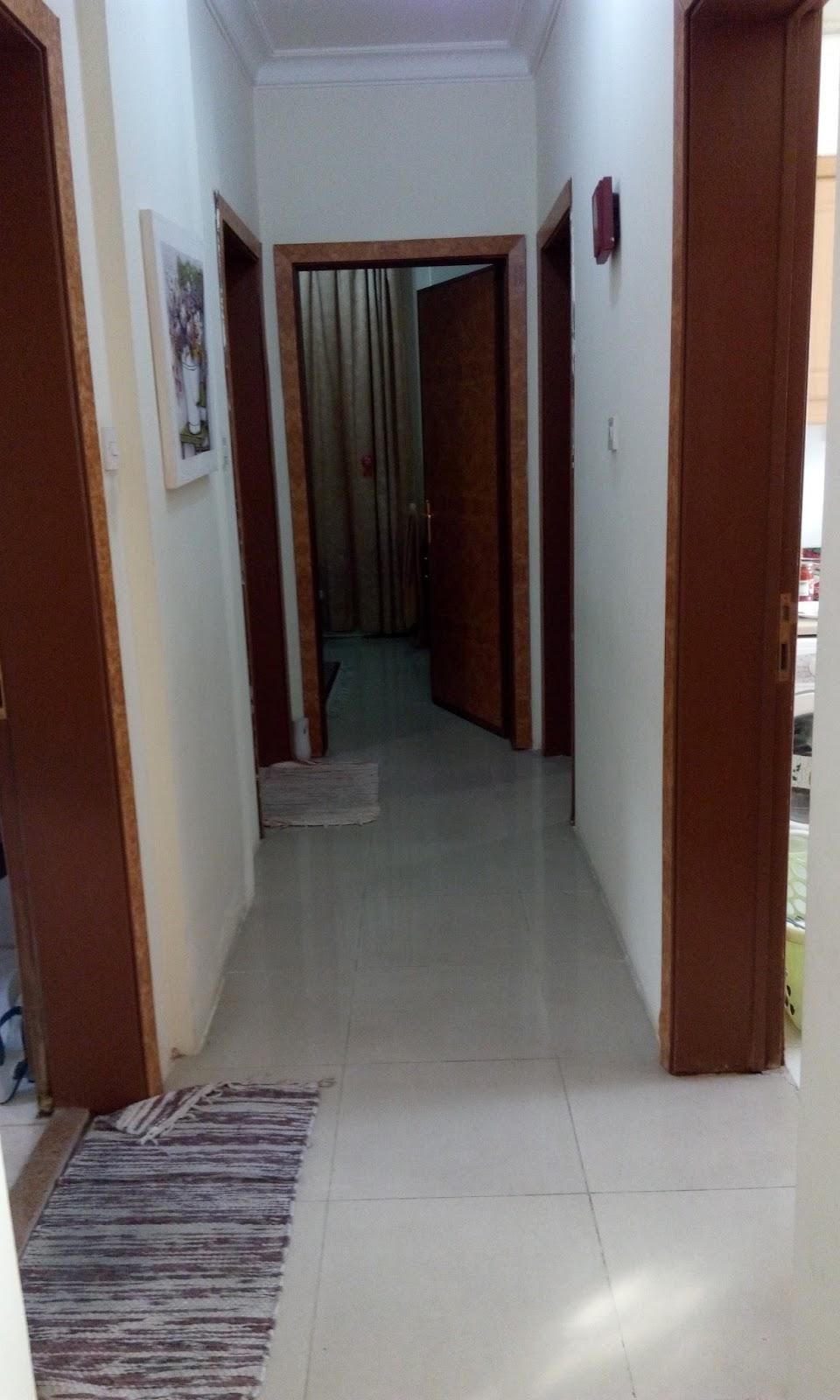 Lorong Dr Ruang Tamu Nak Ke Dapur Toilet N Bilik