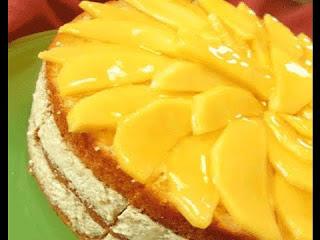 Cara Membuat MANGO TEA CAKE