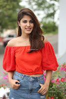 Rhea Chakraborty in Red Crop Top and Denim Shorts Spicy Pics ~  Exclusive 162.JPG