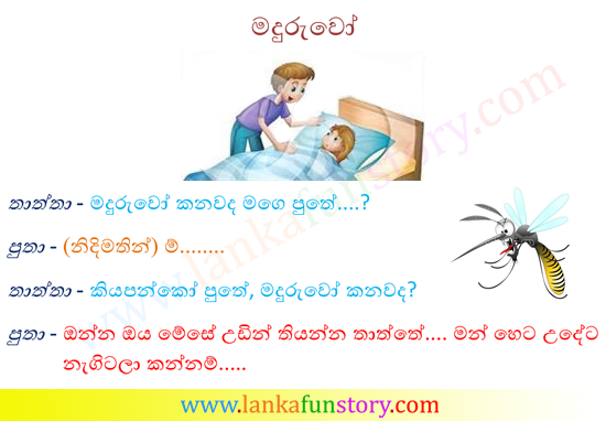 Sinhala Jokes-Mosqutioes
