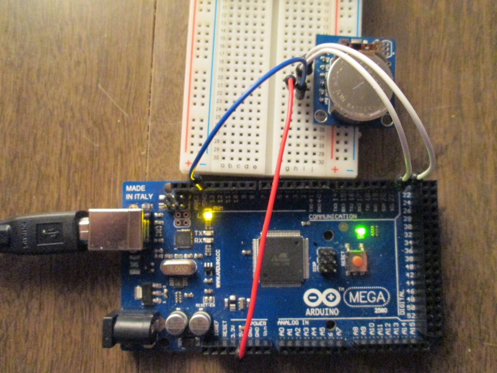 Projects From Tech Arduino Rtc Tinyrtc V1 With Mega 2560 Ds1307 Real Time Clock Circuit