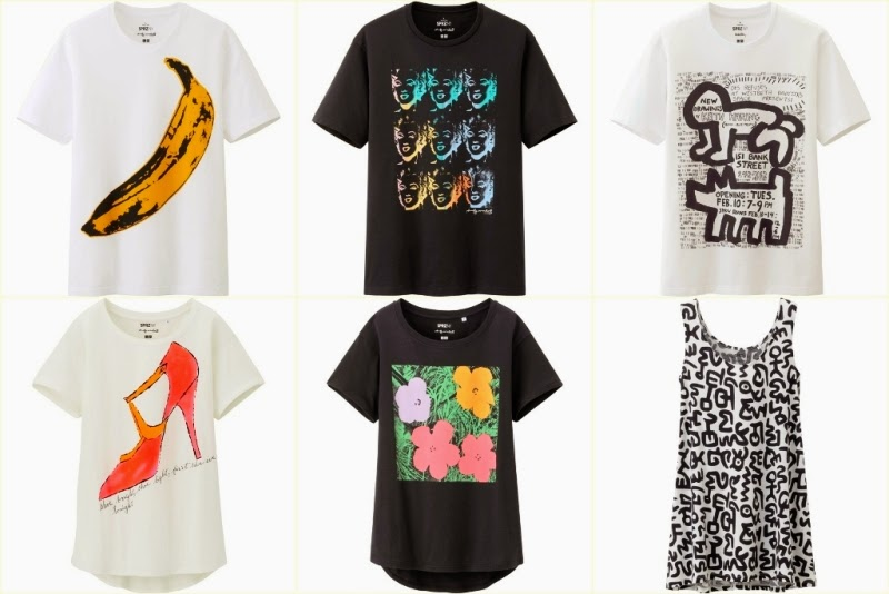 Uniqlo SPRZ NY, Uniqlo Surprise New York, Graphic T Shirt, Andy Warhol, Keith Haring