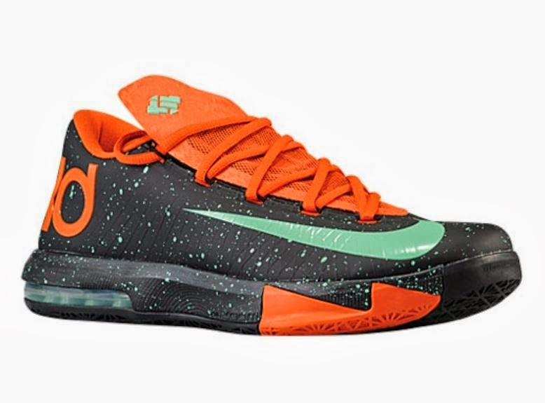 """6faa17d127ae THE SNEAKER ADDICT  Nike KD 6 VI """"Texas Halloween"""" Sneaker Available Now"""