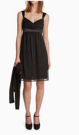 sommerkleider festlich esprit collection damen kleid mini regular fit schwarz. Black Bedroom Furniture Sets. Home Design Ideas