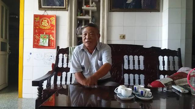 Ông Dũng thừa nhận đã thông báo cắt điện của 20 hộ dân vì viết và bình luận trên f.b