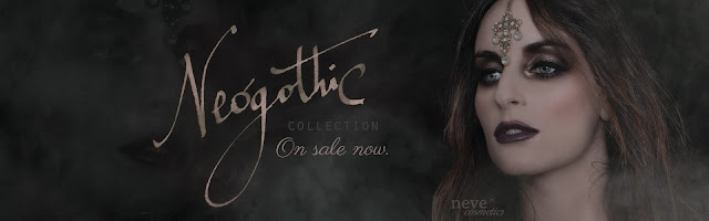 Neve Cosmetics Neogothic Collection - Banner della Promo