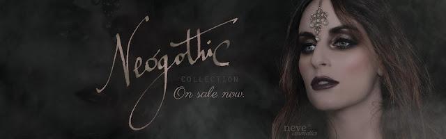 Neve Cosmetics Neogothic Collection - Banner della Promo