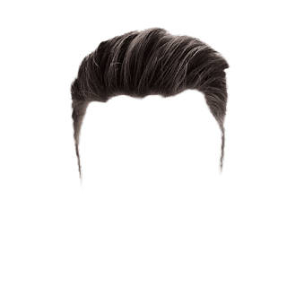 Real Hair PNG Zip File Free Download