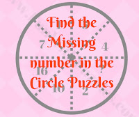 Find the Missing number in the Circle Puzzle Questions