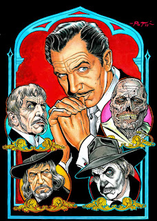 Vincent Price Art