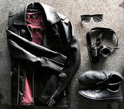 Ideas de como usar una chaqueta de cuero