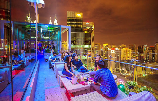View Rooftop Bar G Tower in KL