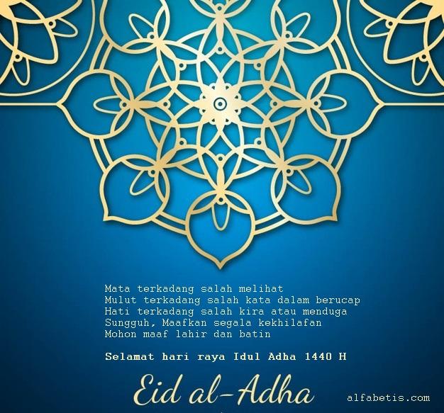 Download Kartu Ucapan Selamat Lebaran Haji