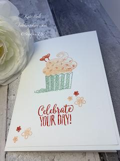 Hello Cupcake Birthday Card, Stampin Up