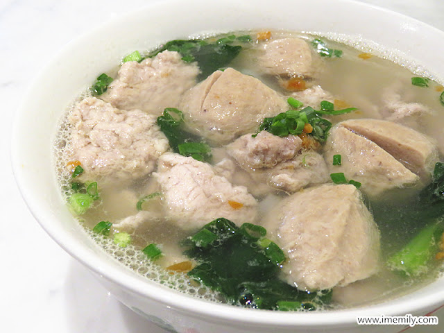 Pork noodles Malaysia Boleh! Four Seasons Place KL