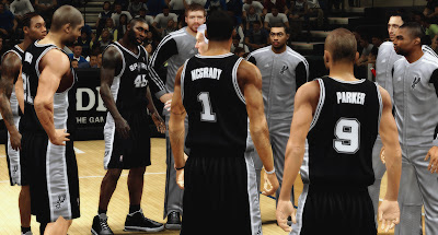 NBA 2K13 2K's Roster with T-Mac signs Spurs