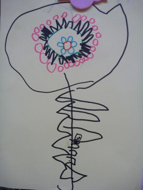 Zeichnungsunterricht im Kindergarten