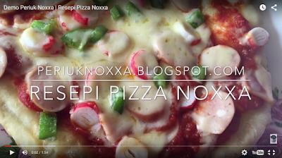 resepi pizza noxxa pizza periuk noxxa