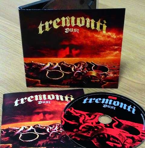 """Dust"" new amazing album by TREMONTI"